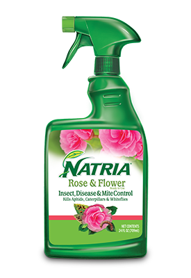NATRIA Rose And Flower Insect Disease And Mite Control 24 oz. RTU